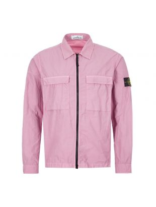 Stone Island Overshirt | 721511102 V0086 Light Purple