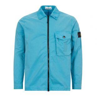 Stone Island Overshirt | 7215114WN V0142 Turquoise