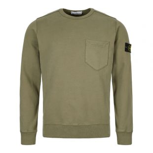 Stone Island Sweatshirt Pocket 711563820 V0068 Khaki
