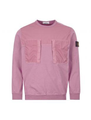 Sweatshirt Pocket - Purple