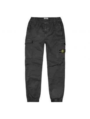 Stone Island Cargo Trousers | 7315314L1 V0129 Black | Aphrodite