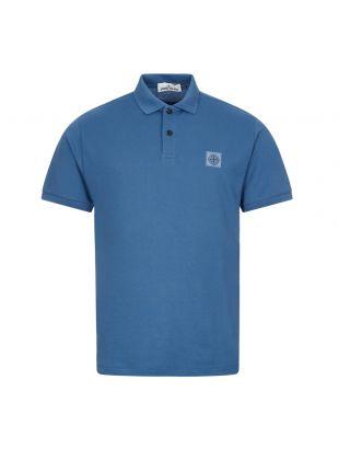 Stone Island Polo Shirt , 731522R39 V0043 Blue , Aphrodite 1994