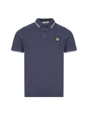 Stone Island Polo Shirt , 731522S18 V0028 Navy , Aphrodite 1994