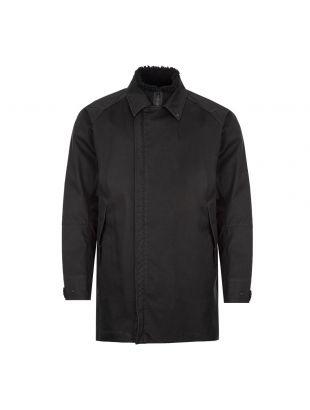 Stone Island Raso Gommato Ghost Piece Jacket   7315440F1 V0029 Black