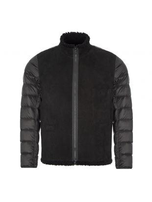 Raso Gommato Ghost Piece Jacket - Black