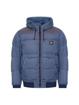 Stone Island Down Jacket | 731542634 V0043 Blue