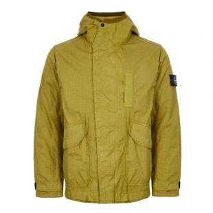 Stone Island Reflective Weave Ripstop TC Jacket | 711543999 V0034 Green