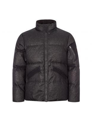 Stone Island Rubberised Linen Jacket | 7319407B3 V0029 Black