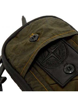 Bum Bag Compact Treatment Nylon - Dark Green