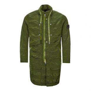 stone island shadow project jacket striped nylon metal 721970401 V0058 green