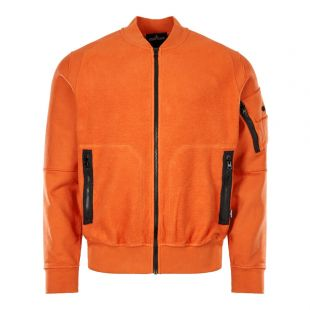 Stone Island Shadow Project Bomber Jacket 711960406 V0013 Rust