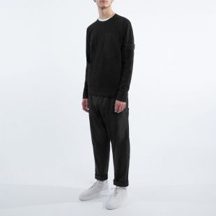 Sweatshirt Knitted  - Black