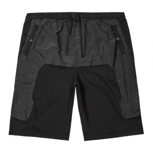 stone island shadow project sweat shorts | 721960307 V0029 black
