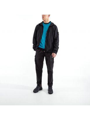 Jacket Skin Touch Nylon- Black