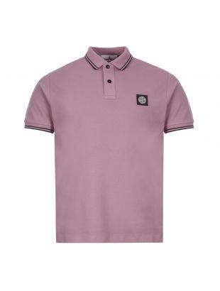 Stone Island Polo Shirt | 731522S18 V1045 Mauve
