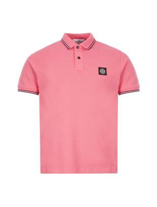 Stone Island Polo Shirt | 731522S18 V1087 Pink