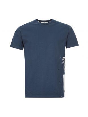 Stone Island T-Shirt Compass | 72152NS83 V0028 Navy