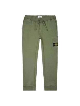 stone island sweatpants 721564551 V0058 green