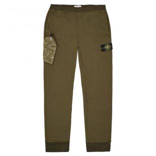 Stone Island Sweatpants | 711563946|V0058 Olive | Aphrodite Clothing