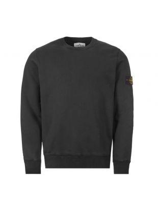 stone island sweatshirt | 721563051 V0029 black