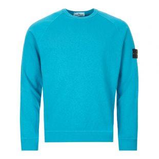 Stone Island Sweatshirt | 721566060 V0024 Turquoise