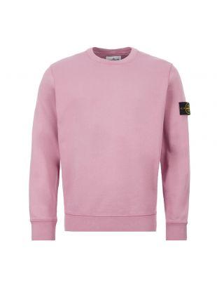 Stone Island Sweatshirt | 721563051 V0086 Dusty Pink