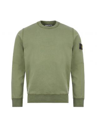 Stone Island Sweatshirt | 721563051 V0058 Green