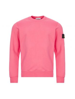 Stone Island Sweatshirt , 731563020 V0087 Pink , Aphrodite 1994