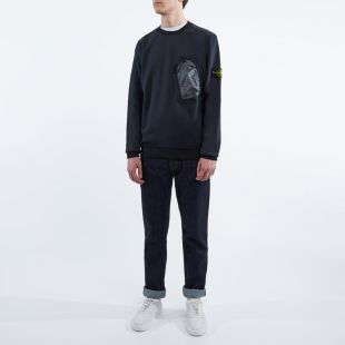Sweatshirt Pocket - Navy