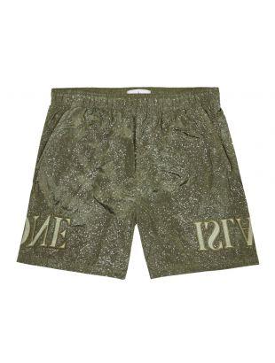 stone island swim shorts 7215B0444 V0058 olive