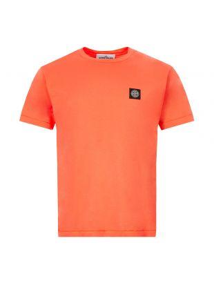 Stone Island T-Shirt | 721524113 V0037 Orange
