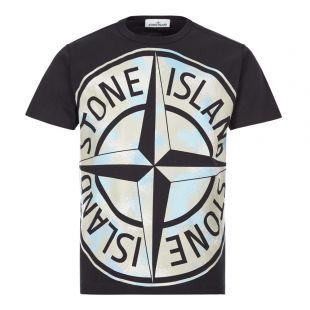 Stone Island Big Loom T-Shirt | Black 721523388 V0029 | Aphrodite