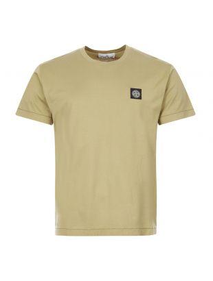 Stone Island T-Shirt Logo | 721524113 V0098 Dark Beige