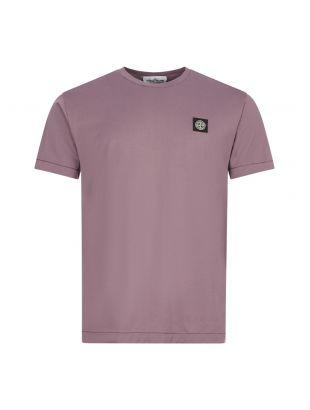 Stone Island T-Shirt , 731524113 V0045 Mauve , Aphrodite 1994