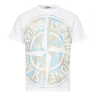 Stone Island Big Loom T-Shirt | White 721523388 V0001 | Aphrodite
