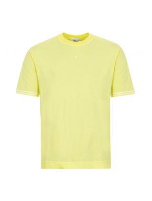 stone island t-shirt 721521358 V0031 lemon