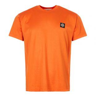 t-shirt patch logo 711524113 V0032 orange