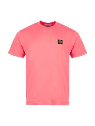 Stone Island T-Shirt | 731524113 V0087 Pink