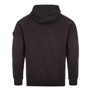 Ghost Piece Zipped Sweatshirt - Black