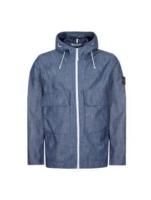 Stone Island Mac Chambray 3L Jacket | 741543747 WASH