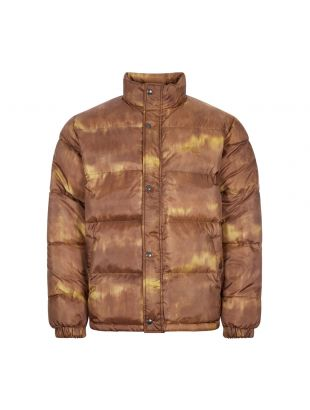 Stussy Aurora Puffer Jacket | 115545 Brown