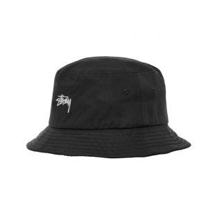 stussy bucket hat | 132974 BLK black