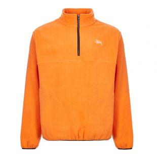 Stussy Fleece Basic Polar 118333 ORANGE Orange
