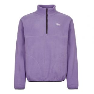 Stussy Fleece Basic Polar 118333 VIOLET Violet