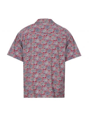 Short Sleeve Shirt - Floral / Red