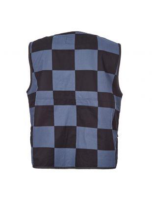 Utility Vest - Black / Dusky Blue