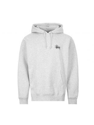 stussy hoodie | 1924500 ASH grey