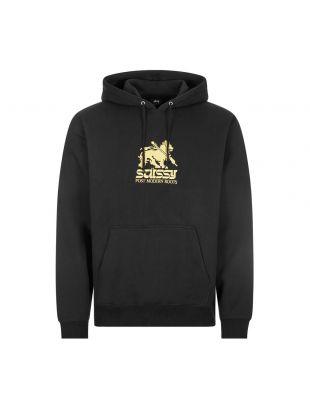 Stussy Lion Hoodie | 118404 BLACK