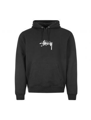 Stussy Hoodie Logo | 118391 BLK Black