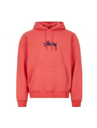 Stussy Hoodie Logo | 118391 RED